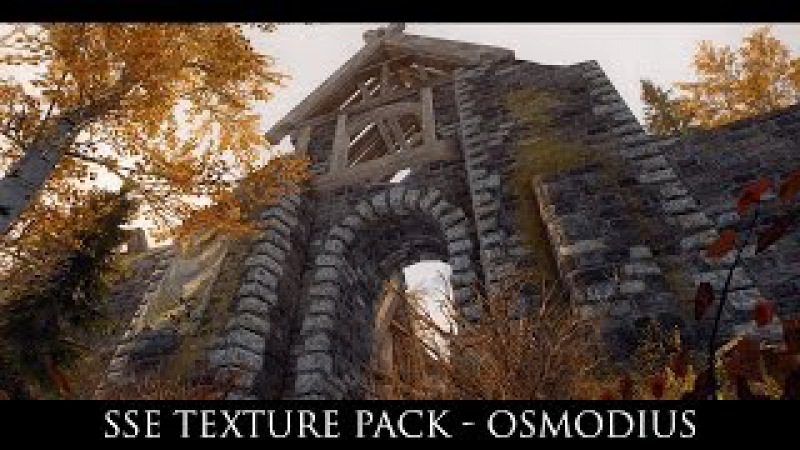 Skyrim Special Edition Mods: SSE Texture Pack - Osmodius