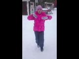 Дарина танцует рок-н-ролл