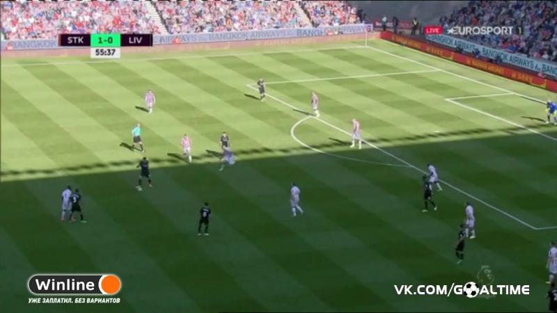 ГолТВ рф Сток Сити Ливерпуль 1 2 Обзор матча АПЛ