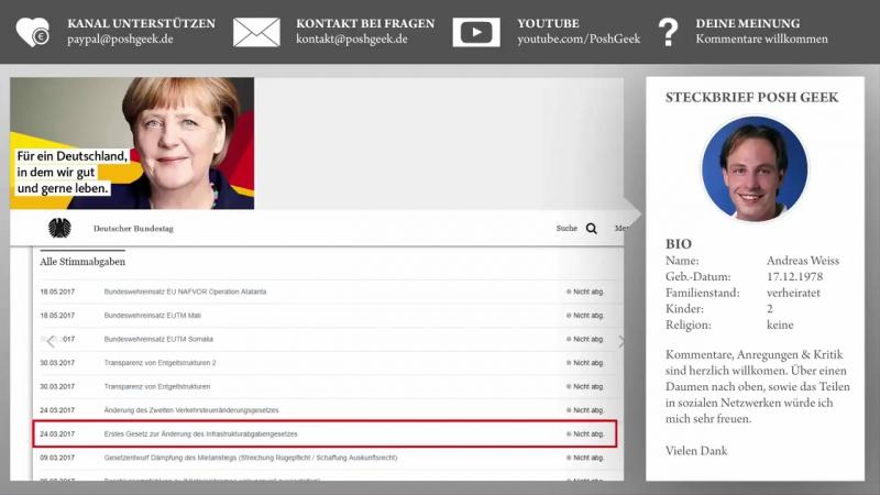 Angela Merkel - 444 Beweise, Deutschland ist ihr sch...egal!