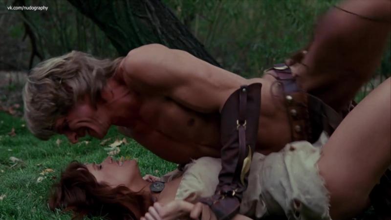 Таня Робертс (Tanya Roberts) в фильме Повелитель зверей (The Beastmaster, 1982, Дон Коскарелли) 1080p