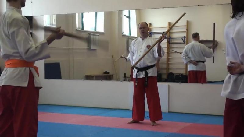 Таинг банши. Семинар по технике с длинной палкой