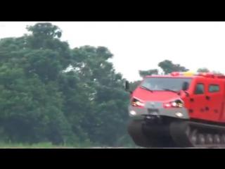 Singapore Technologies Kinetics - ExtremV Многоцелевой двухзвенной гусеничной машины [480p]