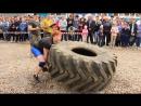 Трутнев Артем - кантовка покрышки 300 кг