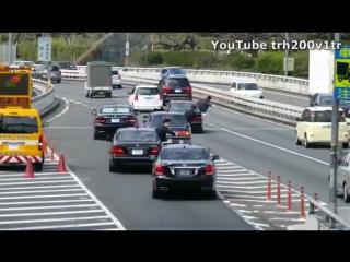 Кортеж японского премьер–министра