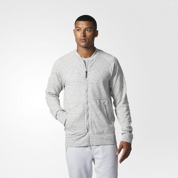 Куртка-бомбер adidas Athletics x Reigning Champ Primeknit