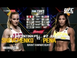 UFC Fight Night Valentina Shevchenko Vs Julianna Pena