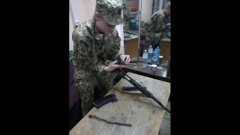 Неповна розборка і зборка АКС-74 😎
