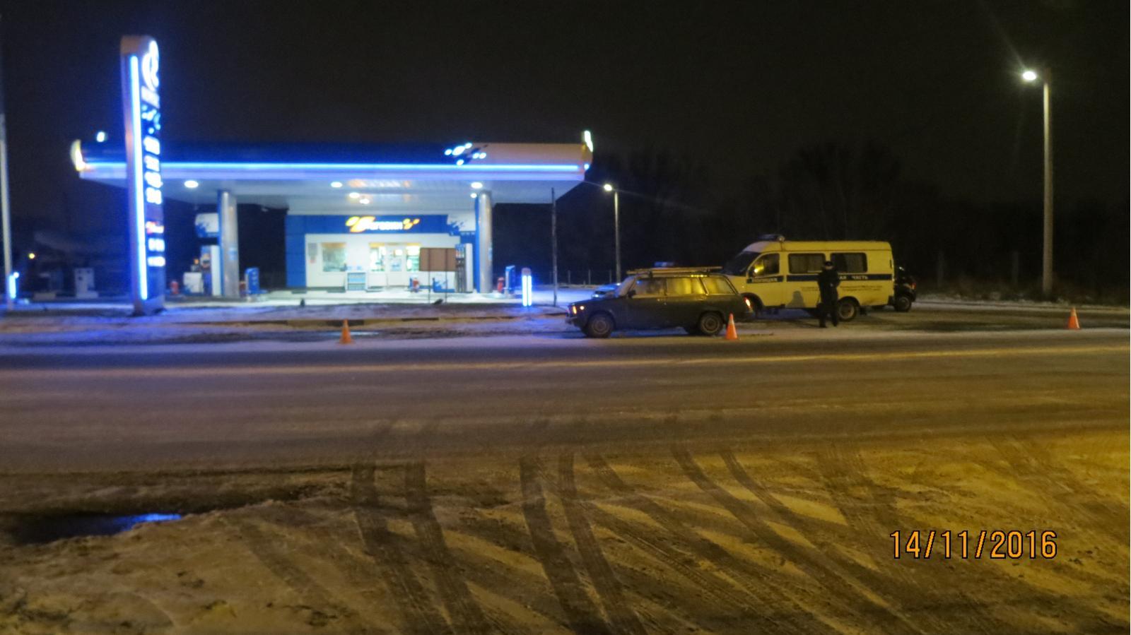 ВКурске «ВАЗ» сбил семью пешеходов-нарушителей