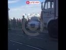 Жёсткая авария на проспекте Обуховской Обороны