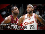 Dwyane Wade vs LeBron James Full Highlights 2008.12.28 Heat at Cavs - 62 Pts, 17 Assists Combined!