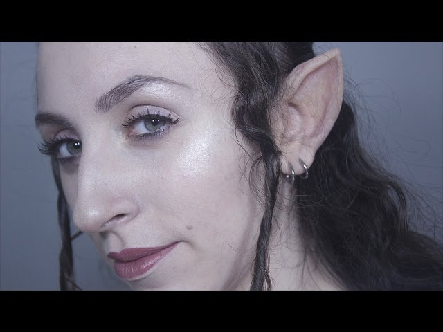 How to make Prosthetic Elf Ears | FX Makeup Tutorial | Creature Lab