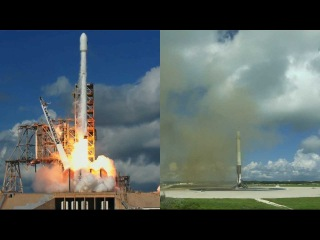 Falcon 9 launches X-37B OTV-5 & Falcon 9 first stage landing, 7 September 2017