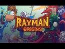 Совместное прохождение Rayman Origins 7 - Grumbling Grottos Громовые гроты
