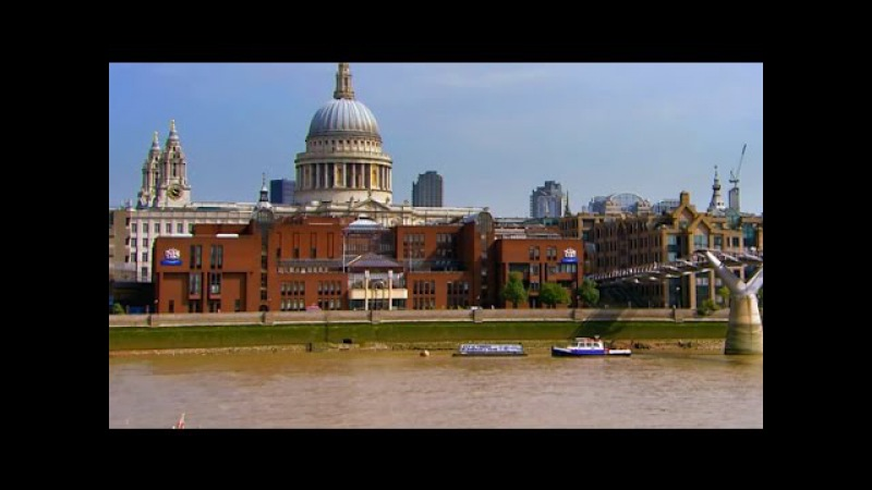 London, England: The City and St. Paul's Cathedral