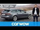Jaguar XF Sportbrake 2018 - better than a Mercedes E-Class Estate  Top10s