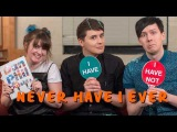 Never Have I Ever with Dan &amp Phil!  Pinatas, Caviar &amp Plotted Plants.