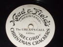 The Uhlan's Call Damaged Mead Fields Xmas Cracker Record