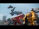 Power Rangers Samurai - First Zord Fight Origins Part 1 Episode.