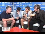 Tim Virgin interview Peter Bjorn and John at Lollapalooza '09