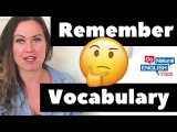 Remember Vocabulary Easily with this Simple Formula!
