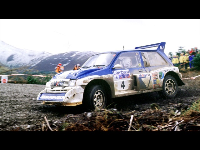 MG Metro 6R4 Group B Rally Car 1985 86