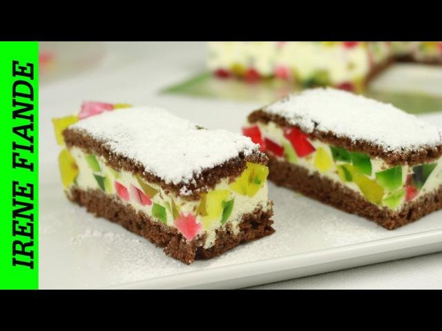 Самый вкусный прохладный желейный торт Битое стекло