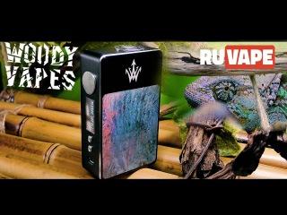 Woody Vapes X200 - Полный Обзор Вейп Бокс Мода - Вперёд в Прошлое! [4K]