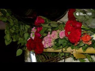 Люди почтили память жертв крушения Ту-154