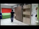 Вертикальная откидная кровать трансформер Вариант