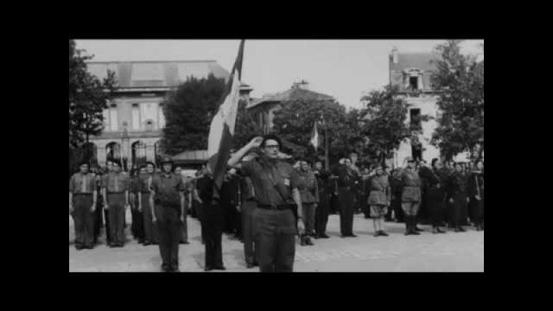 Les Partisans (По долинам и по взгорьям) на французском