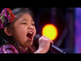 ALL judges shocked! The Most Talanted Girl in the World! Amazing song! Got Talent