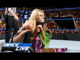 Charlotte Flair vs. Naomi SmackDown LIVE, April 18, 2017