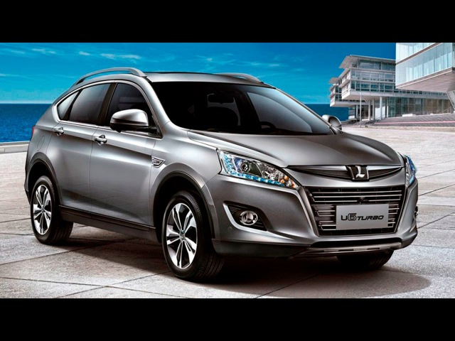 2016 Luxgen U6 Turbo. Mid size crossover from Taiwan. Chinese cars news