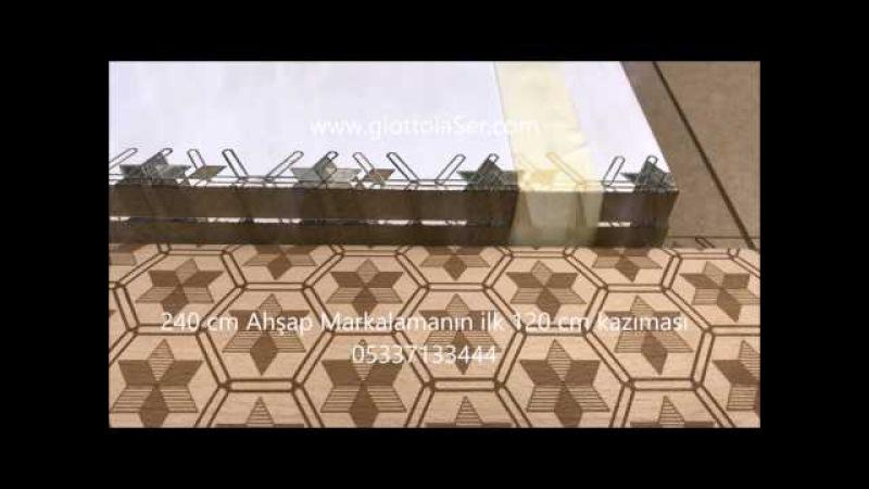 Galvo lazer geniş ebat ahşap kapı kapak panel işleme makinası www.galvolaser.com