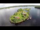 Kotisaari Island in Rovaniemi Finnland