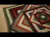 Crocheted Kaleidoscope Granny Square Tutorial