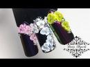 Лепка 3D Гелем с алиэкспресс Дизайн Ногтей