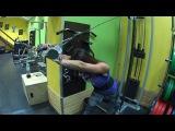 Готовимся на Фитнес бикини! Юлия Худавердян тренировка: плечи, трицепс и бицепс