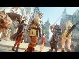 10 Minutes of Black Desert Online Xbox One Build - PAX 2017