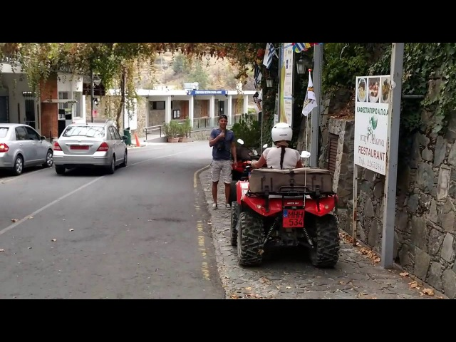 Покатушки на квадроциклах по Троодосу