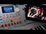 Synth Jam 49 Blade Runner (End Titles) cover Korg Radias