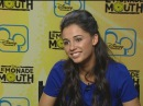 Lemonade Mouth's Naomi Scott shows off freestyle rap skills