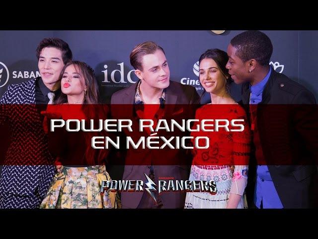 Becky G, Naomi Scott, RJ Cyler, Ludi Lin y Dacre Montgomery México