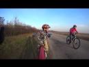 Марк на велоприцепе Trail-Gator