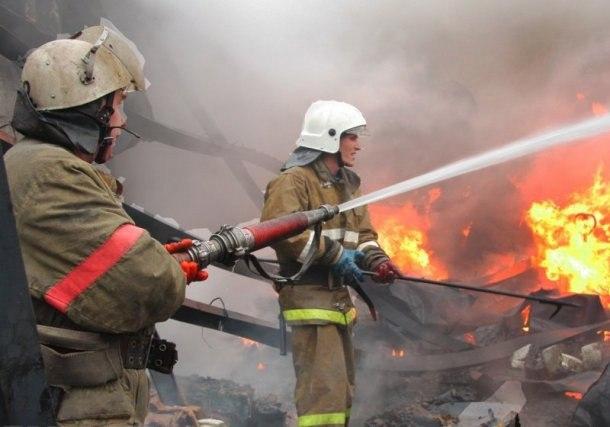 Кухня сгорела в одном из домов станицы Зеленчукской