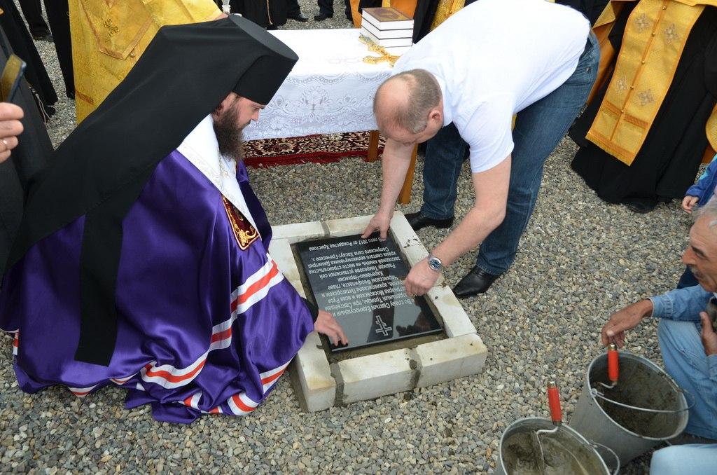 Новый православный храм заложили в Зеленчукском районе