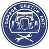 Garage sketch art