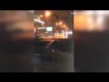 В Сети появилось видео, как Кафельникова проехалась по выделенке на Арбате
