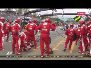 F1 2016. 07 Гран-при Канады. Гонка